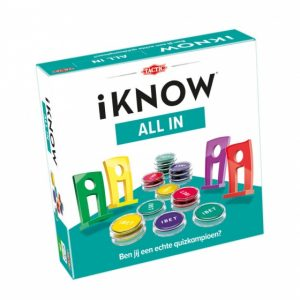Tactic gezelschapsspel iKNOW All in (17.95 EUR) 25.00% korting