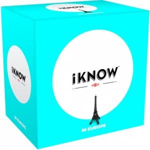 Tactic gezelschapsspel iKnow mini: Europe (8.90 EUR) 44.00% korting