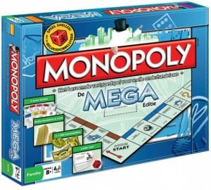 Winning Moves bordspel Mega Monopoly (NL) (35.95 EUR) 35.00% korting