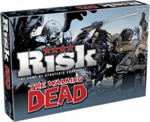 Winning Moves bordspel Risk The Walking Dead (en) (39.95 EUR) 33.00% korting