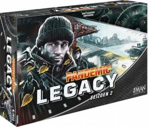 Z Man Games bordspel Pandemic Legacy Seizoen 2 Black (NL) (59.90 EUR) 25.00% korting