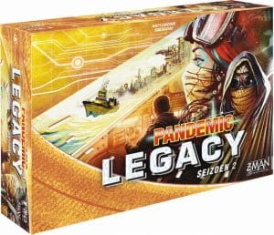 Z Man Games bordspel Pandemic Legacy Seizoen 2 Yellow (NL) (64.25 EUR) 20.00% korting