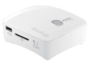 APOTOP Wi-Backup draadloos smart apparaat wit (DW23) (99.99 EUR)