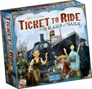 Days of Wonder bordspel Ticket to Ride Rails & Sails (51.95 EUR) 28.00% korting