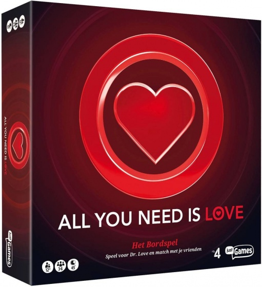 Just Games bordspel All You Need Is Love