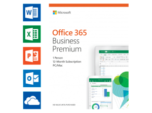 Office 365 Business Premium (UK) – 5 PC's of Mac + 5 tablets + 5 smartphones (149.00 EUR)