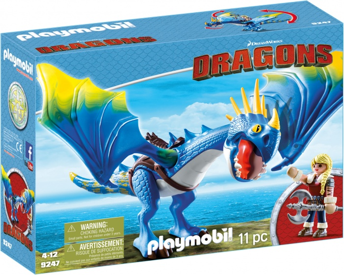 PLAYMOBIL Dragons: Astrid & Stromvlieg (9247)
