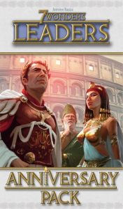 Repos Production 7 Wonders: Leaders anniversary pack (en) (5.90 EUR) 26.00% korting