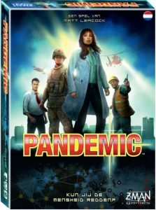 Z Man Games bordspel Pandemic (NL) (31.90 EUR) 33.00% korting
