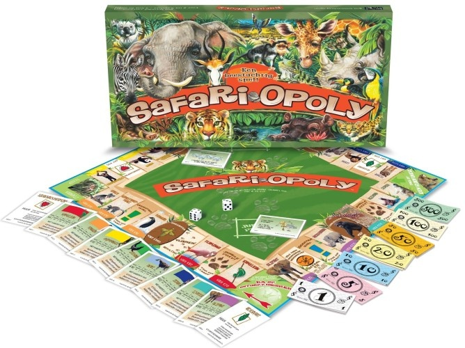 Late For The Sky Safari Opoly Monopoly