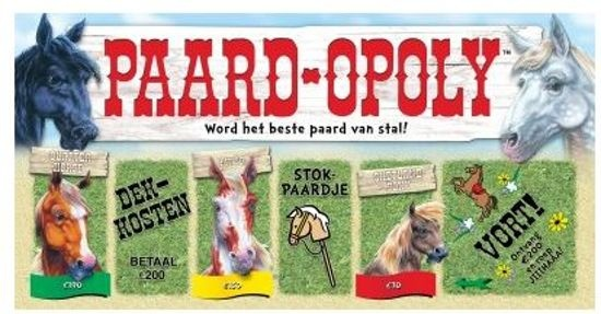Late For The Sky paard opoly spel