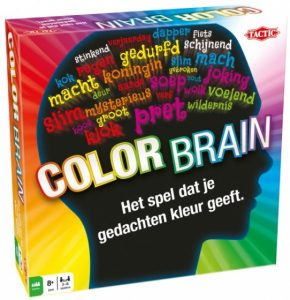 Tactic gezelschapsspel Color Brain (13.45 EUR) 46.00% korting