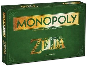 Winning Moves Monopoly: The Legend of Zelda (en) (39.30 EUR) 26.00% korting