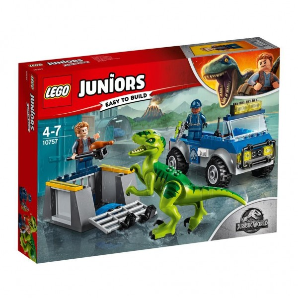 10757 Lego Juniors Raptor Reddingsauto