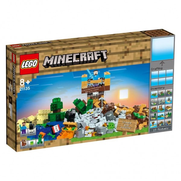 21135 Lego Minecraft De Crafting-Box 2.0