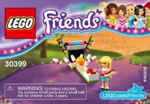 30399 Lego Friends Bowling Polybag ( 2.49 EUR)