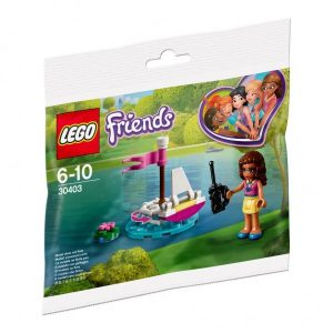 30403 Lego Friends Olivia's RC Boat Polybag ( 3.99 EUR)