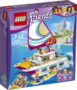 41317 Lego Friends Sunshine Catamaran ( 59.99 EUR)