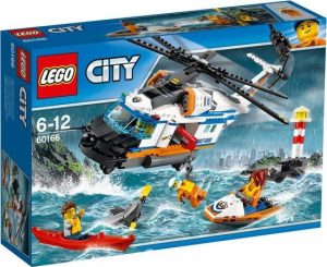 60166 Lego City Zware Reddingshelikopter ( 45.99 EUR)