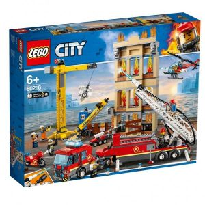 60216 Lego City Downtown Fire Brigade ( 89.99 EUR)