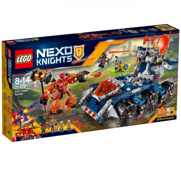 70322 Lego Nexo Knights Axl's Torentransport
