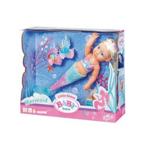 Baby Born Little Sister Mermaid (39.99 EUR)