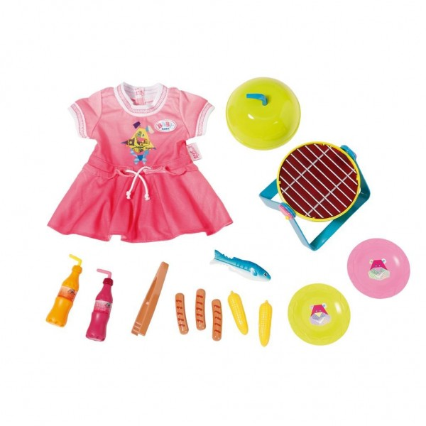 Baby Born Play & Fun Barbecueset