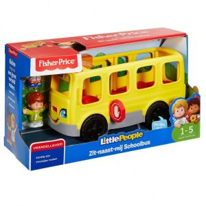 Fisher Price Little People Zit-Naast-Mij Schoolbus (24.99 EUR)