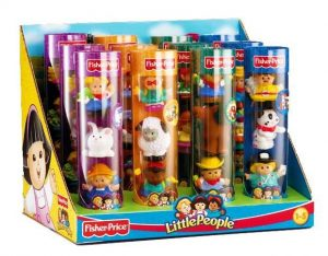 Fisher Price Little People figuren in koker (7.99 EUR)