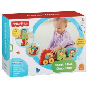 Fisher Price Stack & Roll Choo Choo Trein (10.99 EUR)