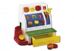 Fisher Price kassa (21.99 EUR)