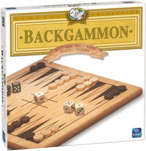 King strategiespel backgammon hout (11.45 EUR) 25.00% korting