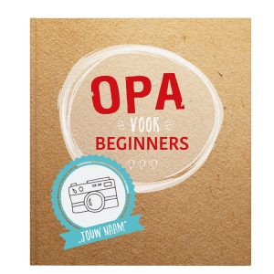 Opa voor beginners – Softcover ( 16.95 EUR)
