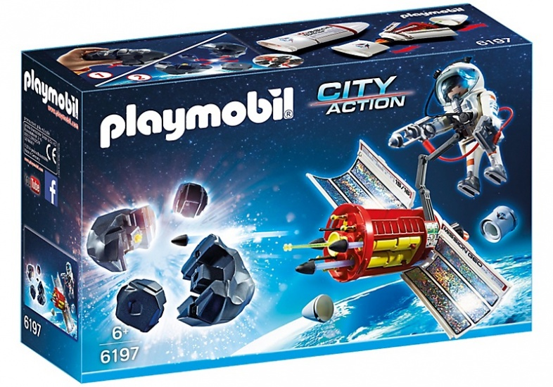 PLAYMOBIL City Action: Meteoroïde verbrijzelaar (6197)