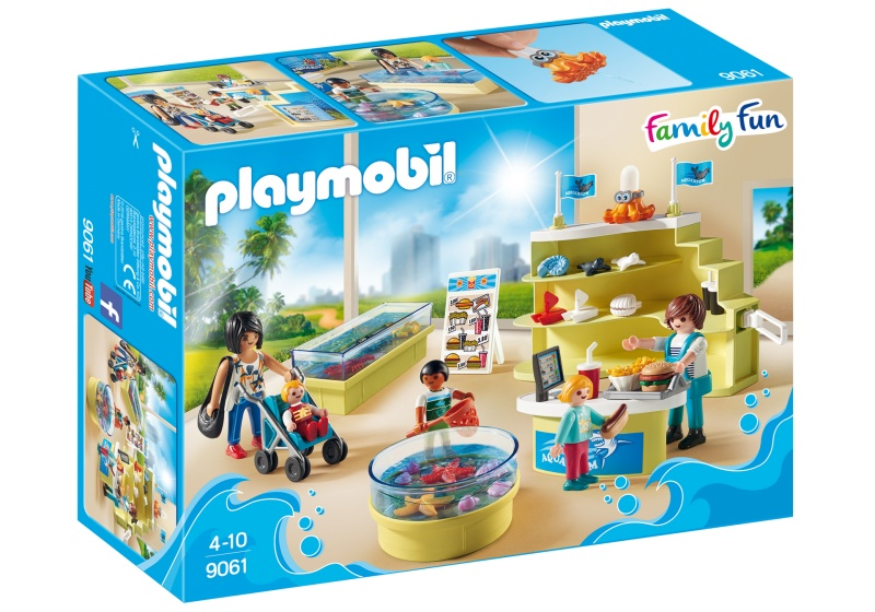 PLAYMOBIL Family Fun: Aquariumshop (9061)
