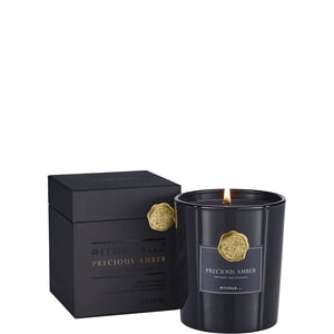 PRIVATE COLLETION PRECIOUS AMBER SCENTED CANDLE LUXE GEURKAARS (29.50 EUR)
