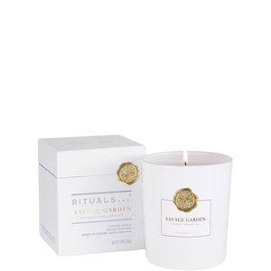 PRIVATE COLLETION SAVAGE GARDEN SCENTED CANDLE GEURKAARS (29.50 EUR)