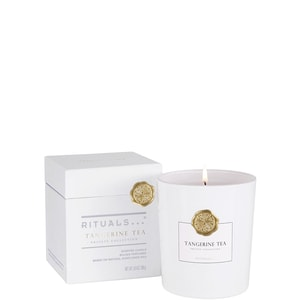 PRIVATE COLLETION TANGERINE TEA SCENTED CANDLE LUXE GEURKAARS (29.50 EUR)