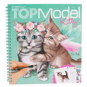 TOPModel Create your Kitty col ouring book (7.95 EUR)