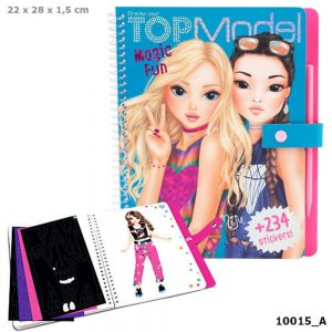 TOPModel Magic Fun Kleurboek (6.95 EUR)
