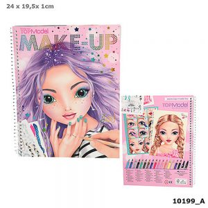 TOPModel Make-Up Colouring Book (4.95 EUR)