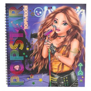 TOPModel Popstar Drawing Book (9.95 EUR)
