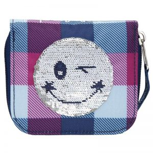 TOPModel Portemonnee Smiley Rev. Sequins Blauw (13.95 EUR)