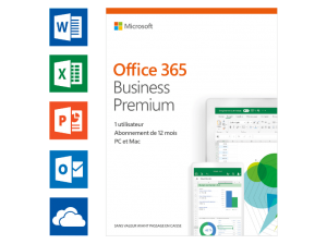 Office 365 Business Premium (FR) – 5 PC's of Mac + 5 tabletten + 5 smartphones (149.00 EUR)