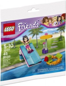 30401 Lego Friends Waterglijbaan Polybag ( 3.49 EUR)
