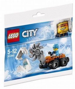 30403 Lego City Artic IJszaag Polybag ( 3.49 EUR)