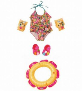 Baby Born deluxe swim fun set (19.99 EUR)