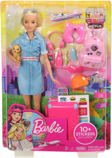 Barbie Travel Barbie Gaat Op Reis