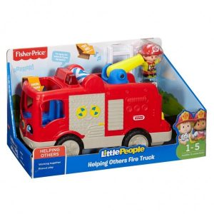 Fisher Price Little People Grote Brandweerauto NL (22.99 EUR)