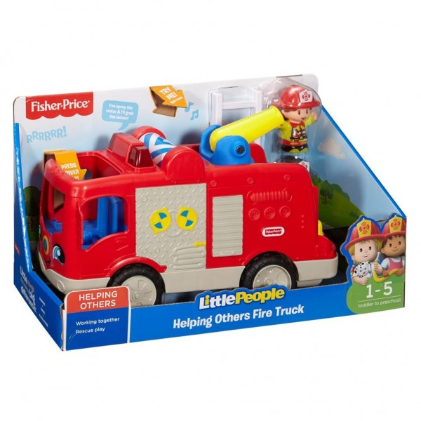 Fisher Price Little People Grote Brandweerauto NL